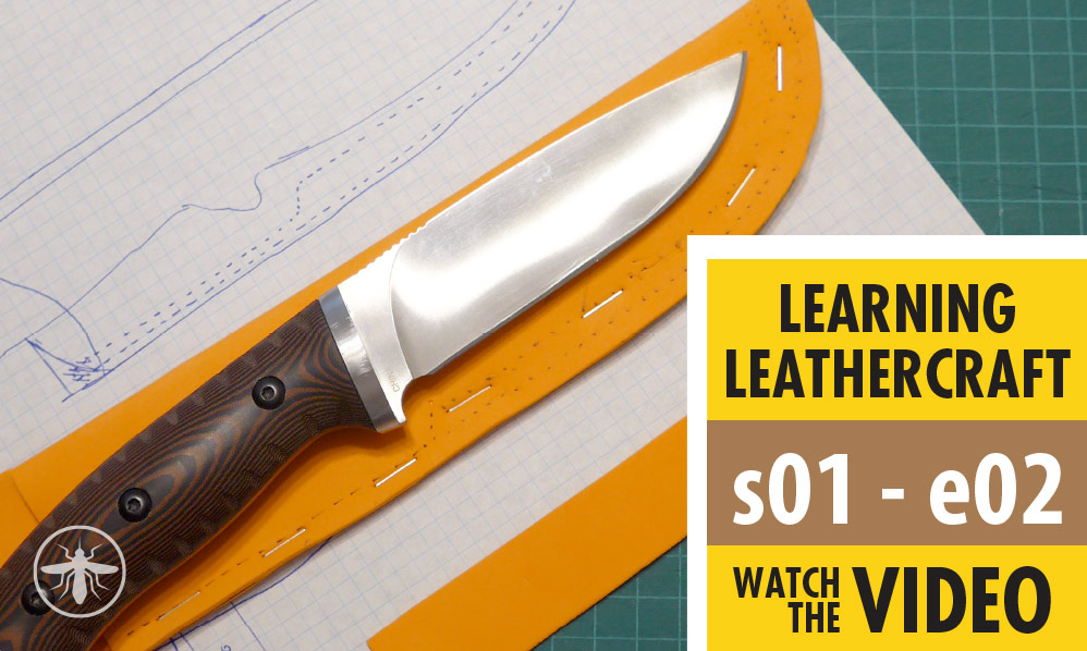 Learning Leathercraft – S01 E02 – Foam Mockup – Part 1